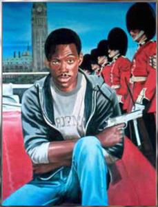 Painting by Victor Jordan